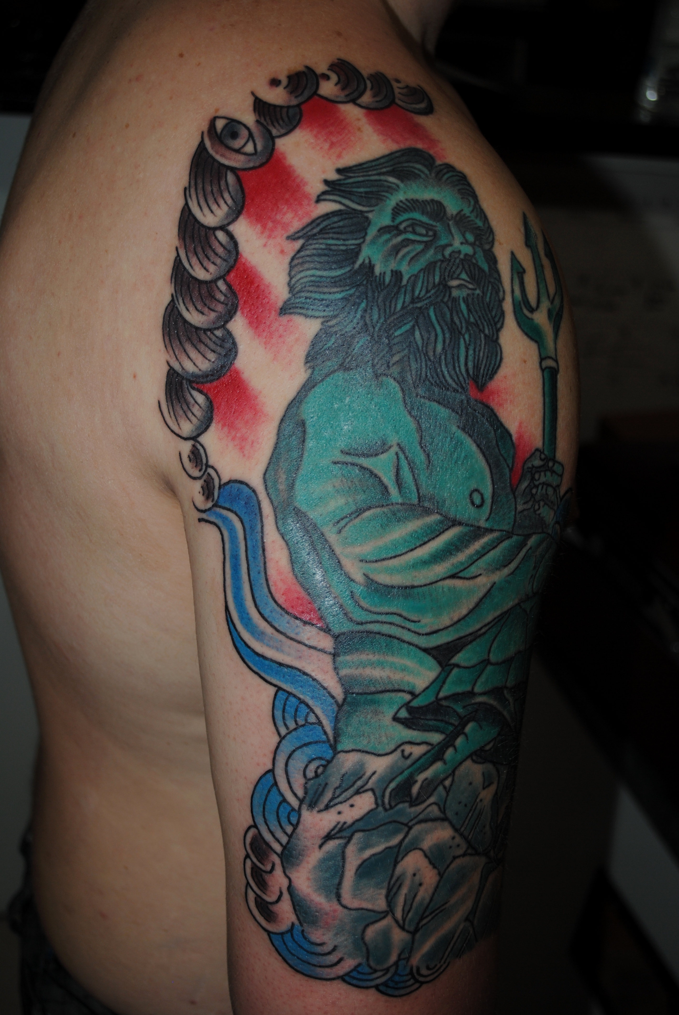 Neptune Tattoo Posted Pictures to Pin on Pinterest ...