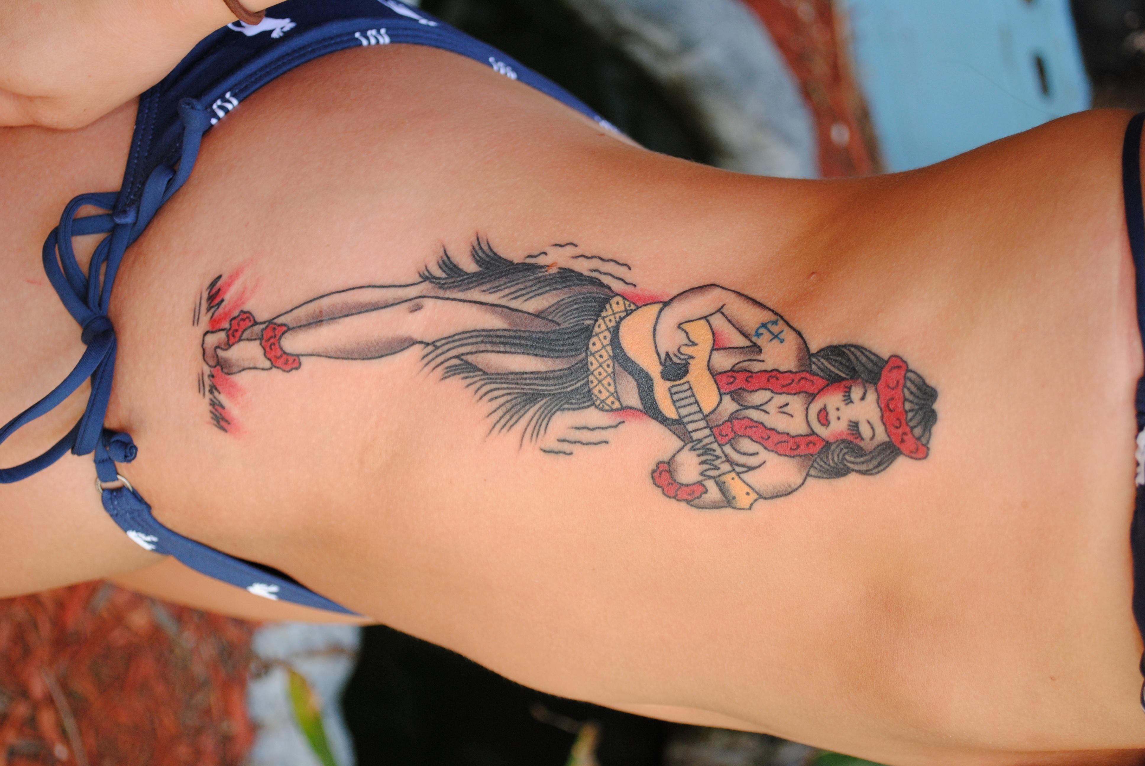 Owl Tattoo Knock Knock The Devil